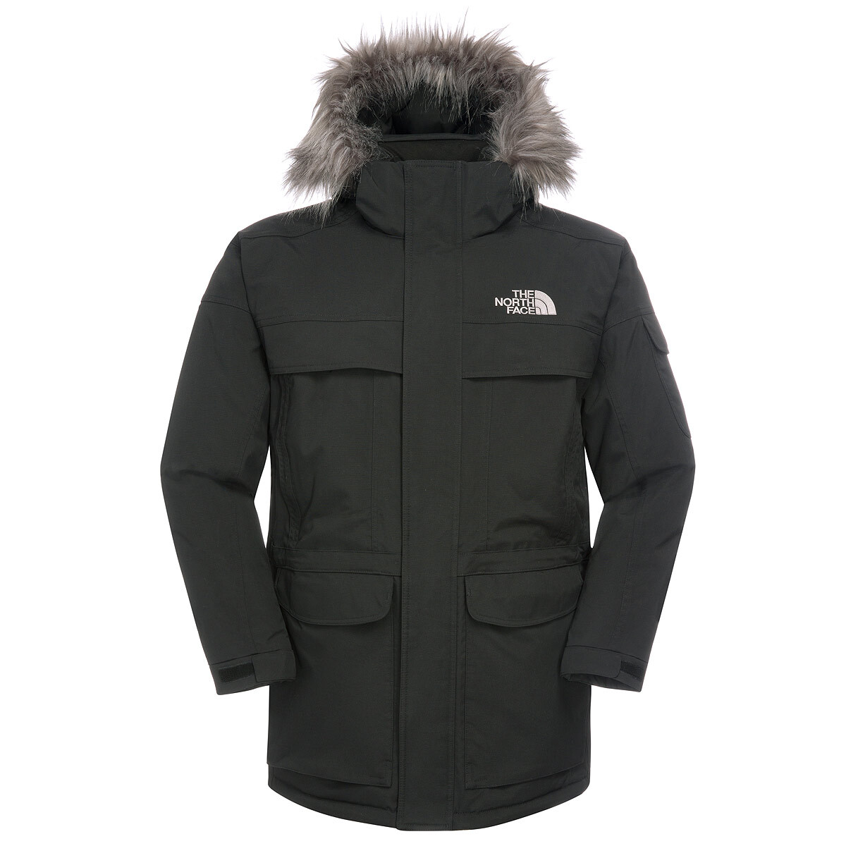 Campz Noir The Homme Face Sur Veste North Mcmurdo 11FRq0